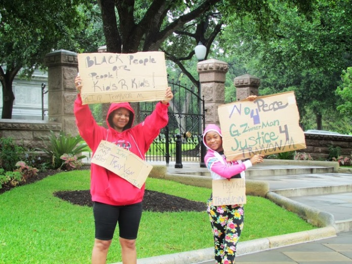Austin Capitol Trayvon1